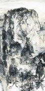 刘罡:山水画家遥望泰山顶颂太阳