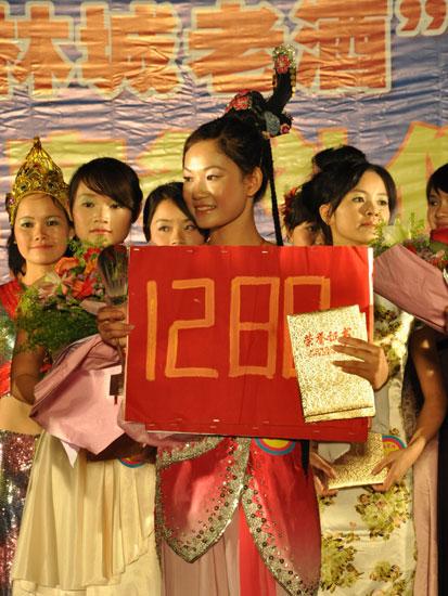 首届广西大学生东盟商务礼仪大赛决赛 决出前三