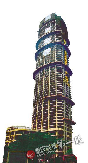 中国西部最高建筑近日封顶