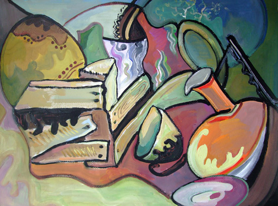 2009级艺术1班《设计色彩》课程作业