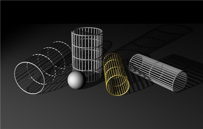 在素描中最基本的形体是立方体。素描时,大多是以对三个面所进行的观察方法来决定立方体的表现。另外,利用面与面的分界线所造成的角度,也能暗示出物体的深度,这就涉及到透视规律。 透视分一点透视(又称平行透视),两点透视(又称成角透视)及三点透视三类。 一点透视就是说立方体放在一个水平面上,前方的面(正面)的四边分别与画纸四边平行时,上部朝纵深的平行直线与眼睛的高度一致,消失成为一点,而正面则为正方形.