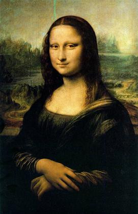 世界名画  达·芬奇《蒙娜丽莎》