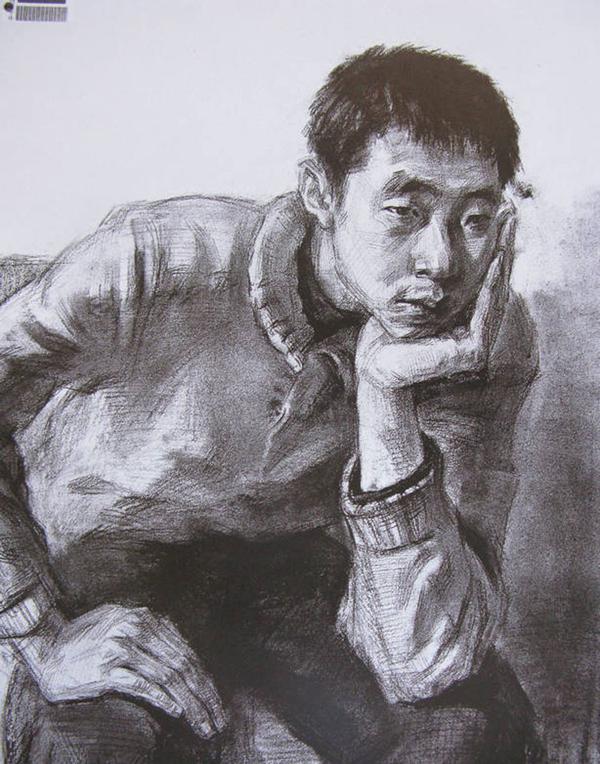 2014年中央美术学院造型艺术速写考卷