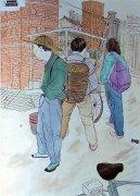 2015年中央美术学院中国画命题创作优秀考卷