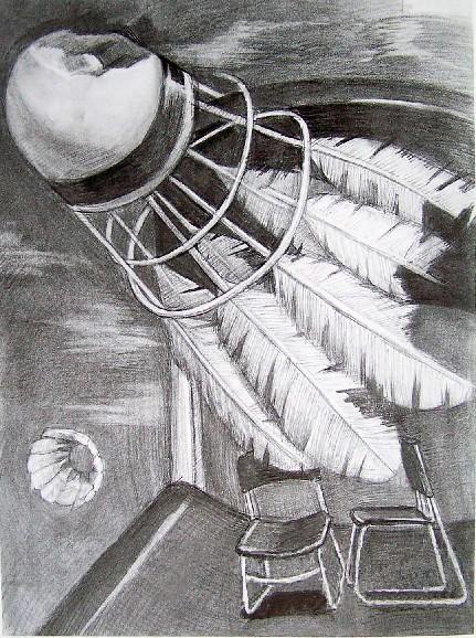 2008年鲁迅美术学院大连校区优秀素描考卷
