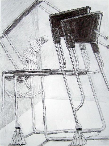 2008年鲁迅美术学院大连校区优秀静物素描考卷