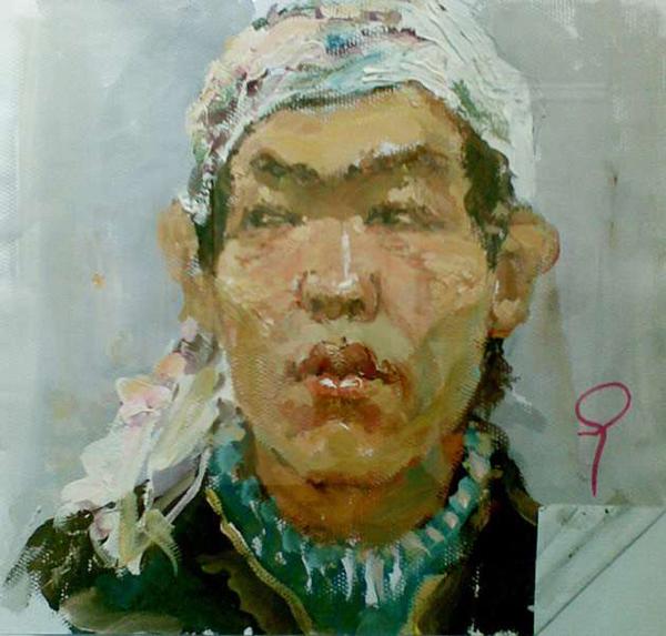 2008年天津美术学院色彩优秀考卷