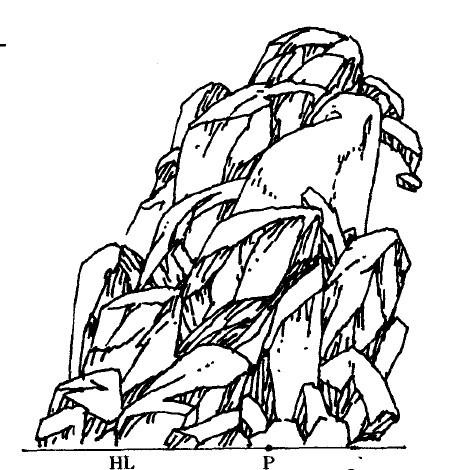 石头手绘线稿彩图