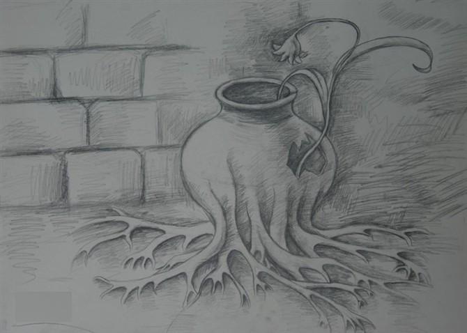 广西艺术学院设计类创意素描作品赏析