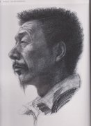 2005年北京服装学院高分头像素描试卷