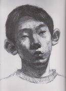 2004年北京服装学院高分头像素描试卷