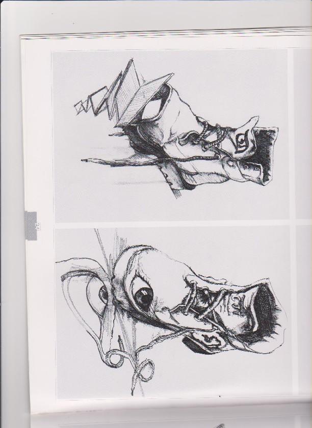 2005年北京服装学院设计类速写校考考试作品集 三