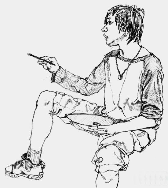 2000年中国美术学院高分速写校考考卷下载