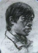 广州美术学院1999年人物素描考试优秀考生作品