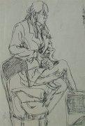 1999年广州美术学院校考优秀速写试卷赏析