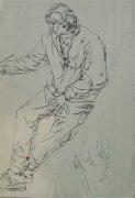 1999年广州美术学院校考优秀速写试卷下载