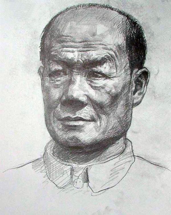 2004年天津美术学院高分头像素描校考试卷