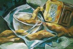 2008年鲁迅美术学院大连校区高分色彩考卷欣赏