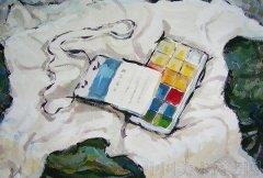 2008年鲁迅美术学院高分色彩校考试卷