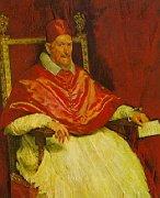世界名画  (西)委拉斯开兹《教皇英诺森十世》