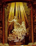 世界名画  贝尔尼尼:《圣德列萨的幻觉》