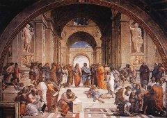 文艺复兴时期名作—《雅典学院》