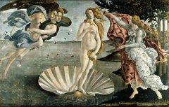 文艺复兴时期名作—《维纳斯诞生》