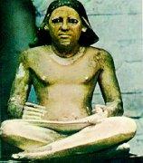 西方早期著名雕刻艺术—《书吏凯伊像》