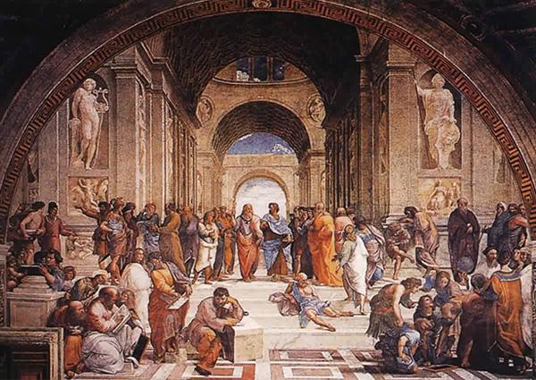主页 绘画学习资料 美术珍品  文艺复兴时期名作—《雅典学院》图片