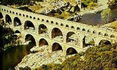 西方史前美术图例—古罗马高架输水道