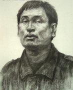 2008年鲁迅美术学院高分人物素描校考真题