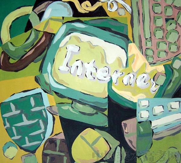 2008年鲁迅美术学院创作设计校考高分试考卷赏析