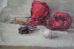 鲁迅美术学院2008年校考水粉画高分作品集