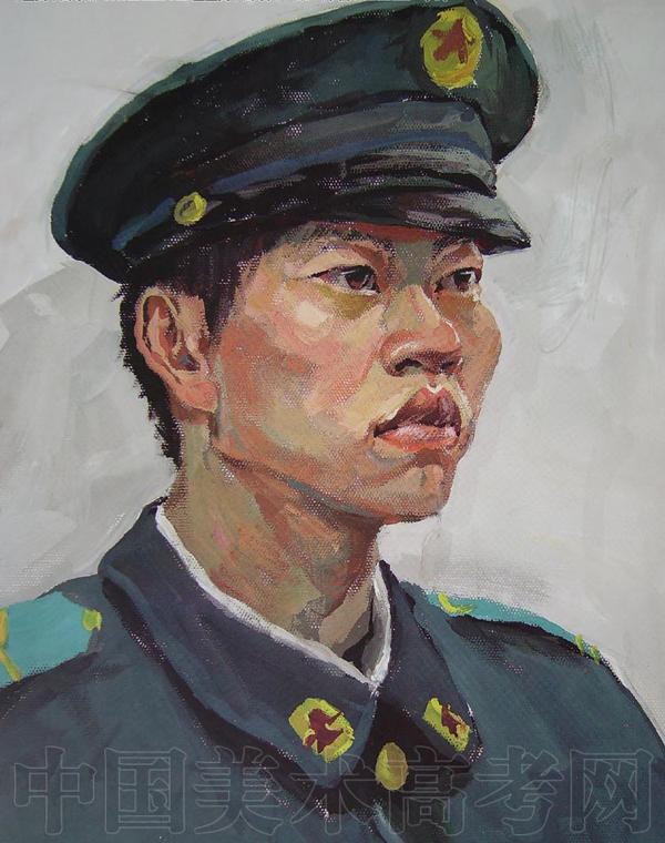 鲁迅美术学院2008年校考水彩画优秀考试卷欣赏