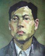 2008年鲁迅美术学院半身人物水粉画考卷欣赏