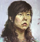 鲁迅美术学院2008年校考色彩头像考卷