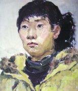 2007年鲁迅美术学院头像水彩画优秀考卷
