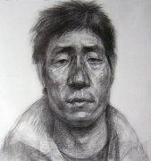 2007年鲁迅美术学院头像素描校考高分试卷